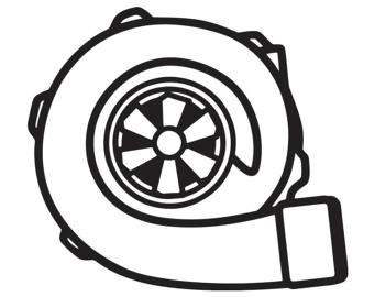 340x270 Boosted Turbo Snail Vinyl Car Sticker Decal Funny