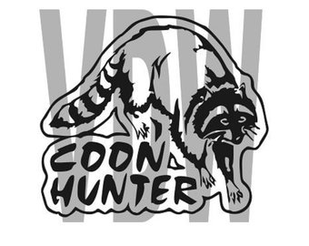 340x270 Coon Dogs Hunting Cutting Files Silhouette Svg Dxf And Eps