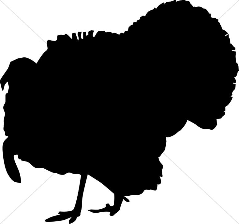 776x729 Turkey Silhouette Thanksgiving Clipart
