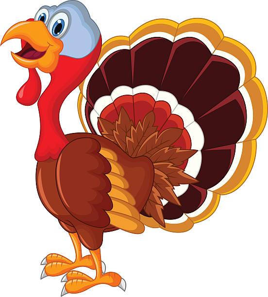 552x612 Happy Turkey Silhouette Clipart