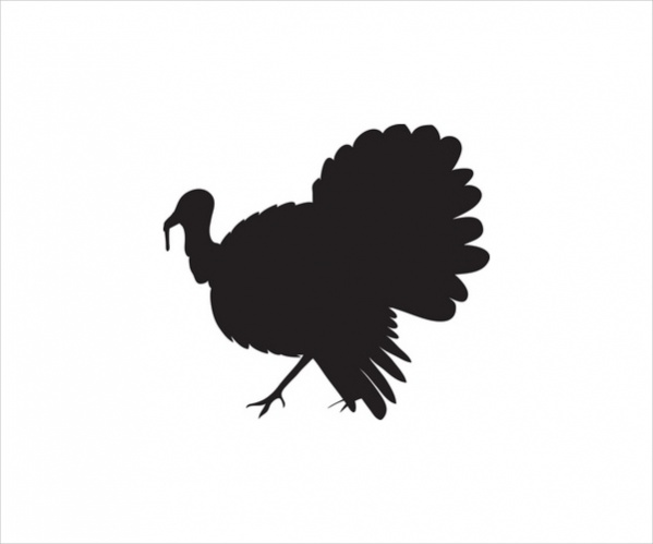 Turkey Silhouette Images
