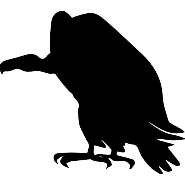 626x626 Vulture Bird Shape Icons Free Download