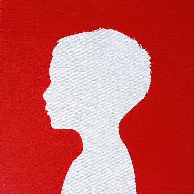 625x625 Turn A Photograph Into Silhouette Pop Art. Silhouettes, Gift