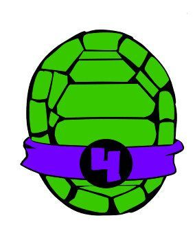 turtle shell silhouette at getdrawings com free for personal use rh getdrawings com ninja turtle shell clipart