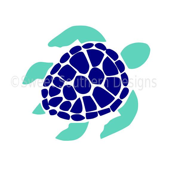 570x570 Sea Turtle Svg Instant Download Design For Cricut Or Silhouette