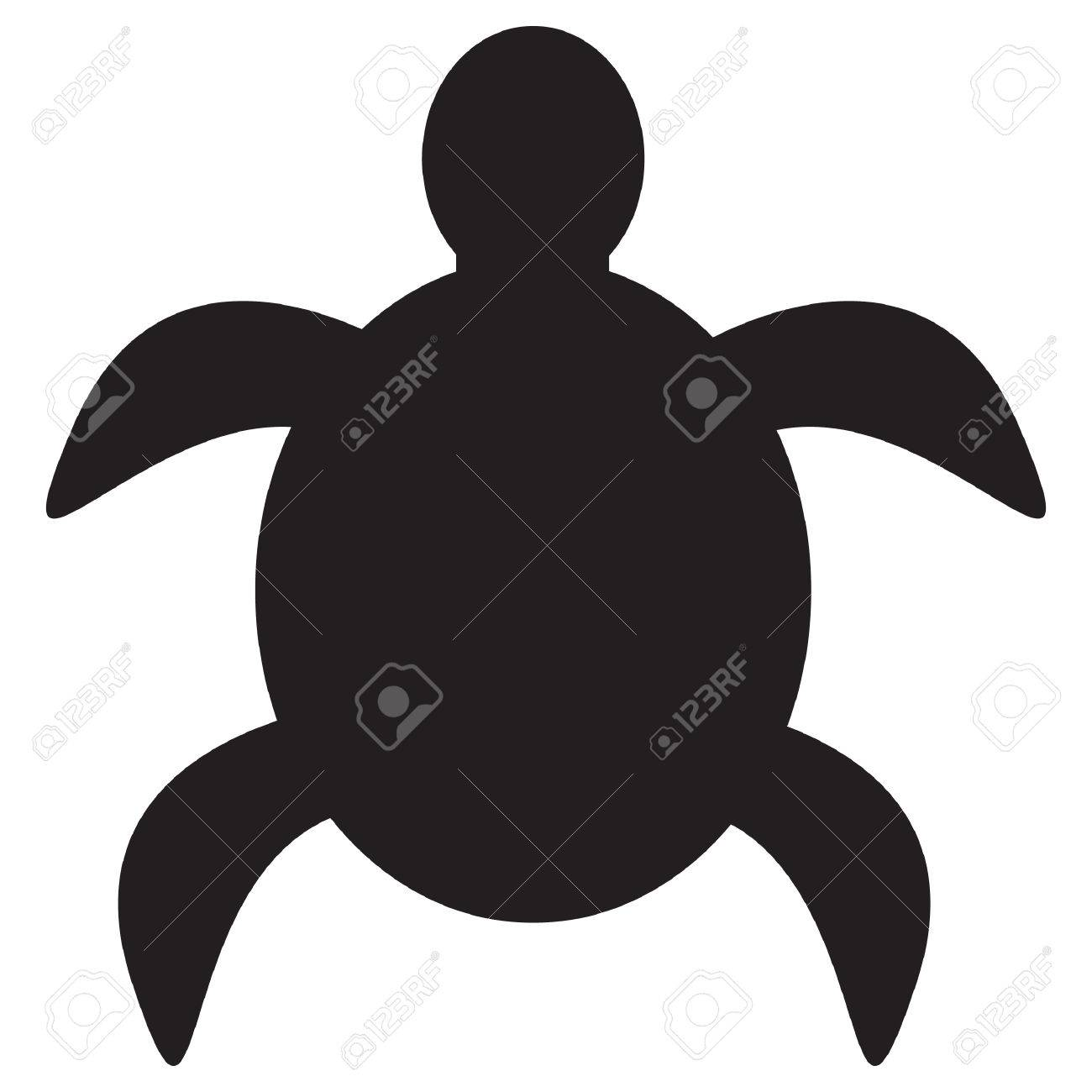 1300x1300 Sea Turtle Silhouette Clip Art 43 Striking Silhouettes