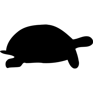 300x300 Tortoise Silhouette Clipart, Cliparts Of Tortoise Silhouette Free