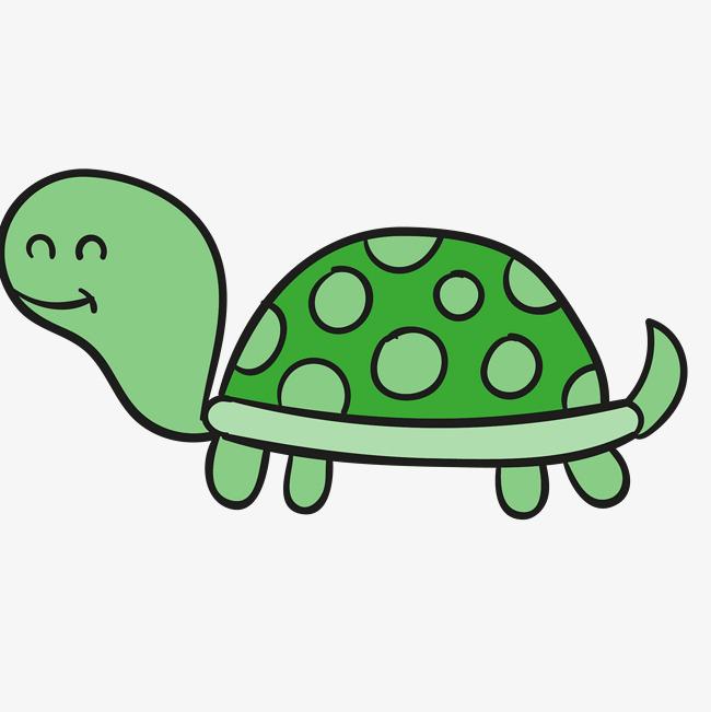 650x651 Cartoon Turtle Vector, Painted Turtle, Cartoon Turtle, Cartoon