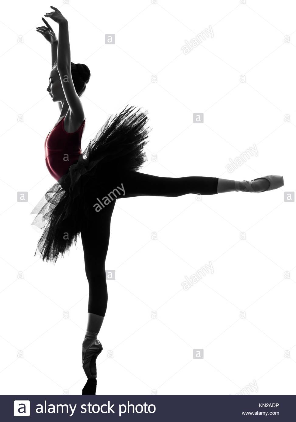973x1390 One Caucasian Young Woman Ballerina Ballet Dancer Dancing