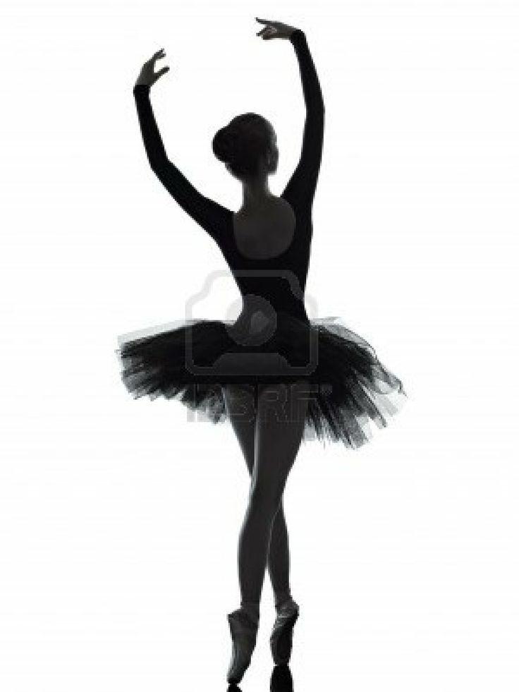 736x981 Silueta De Bailarina De Ballet