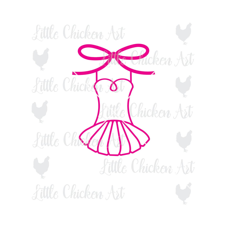 1496x1500 Ballet Tutu With Bow, Dance, Leotard, Cut File, Clip Art, Graphic