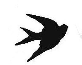 340x270 Bird Silhouette Etsy