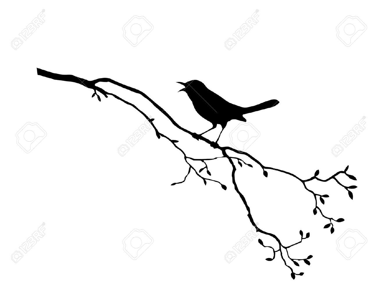 1300x1043 Images For Gt Two Birds On A Branch Tattoo Printables Birds