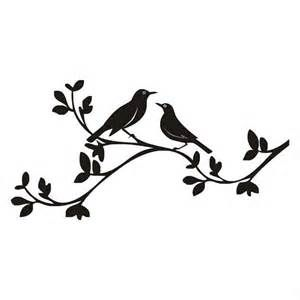 300x300 Birds On A Branch Silhouette