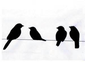 300x218 Birds On A Wire Art