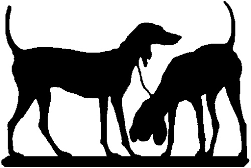 500x335 Two Dogs Silhouette Most Of These Look Best