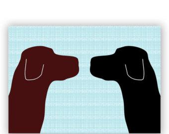 340x270 Black Labrador Dog Fine Art Print Dog Decor Black