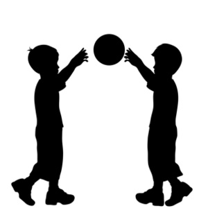 300x300 Kids Playing Clipart Image