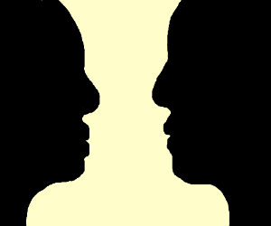 300x250 Is It A Candle Stand Or Two People Kissing
