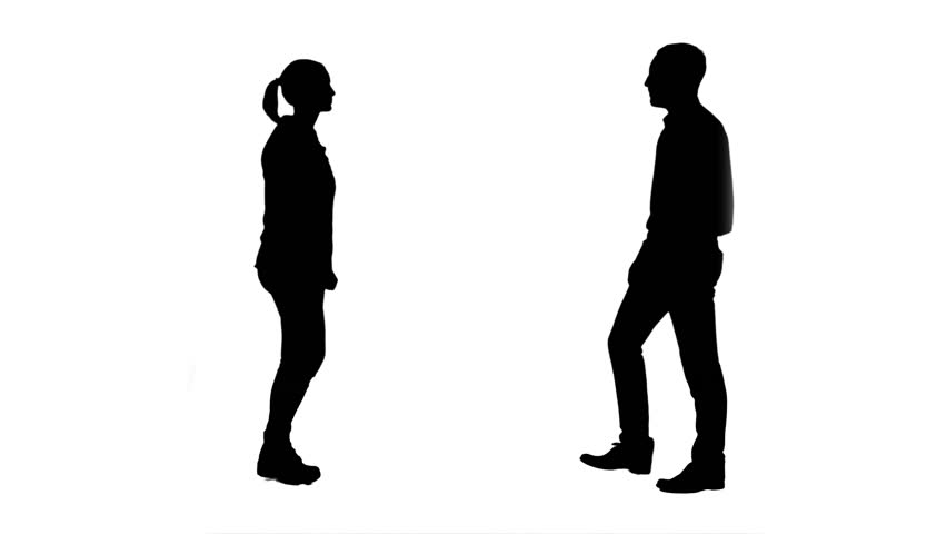 852x480 Multiple Silhouettes Of Busy Business People Talking On Phones