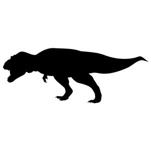 300x300 Tyrannosaurus Rex Silhouette Clipart, Cliparts Of Tyrannosaurus