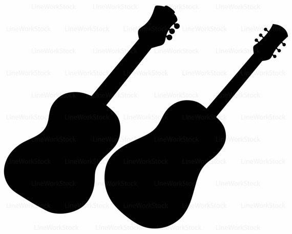 570x456 Guitar Svgguitar Clipartguitar Svgguitar Silhouetteguitar