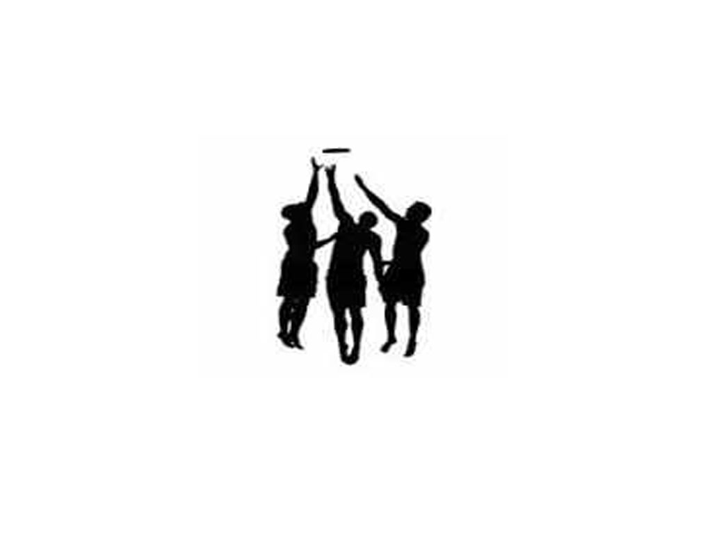 1024x768 Ultimate Frisbee Silhouette 4375896