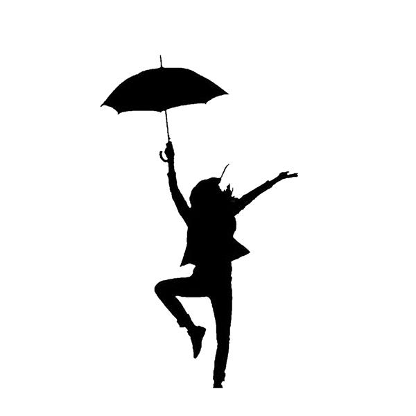 600x600 Silhouette Umbrella Dance Upturn Arts