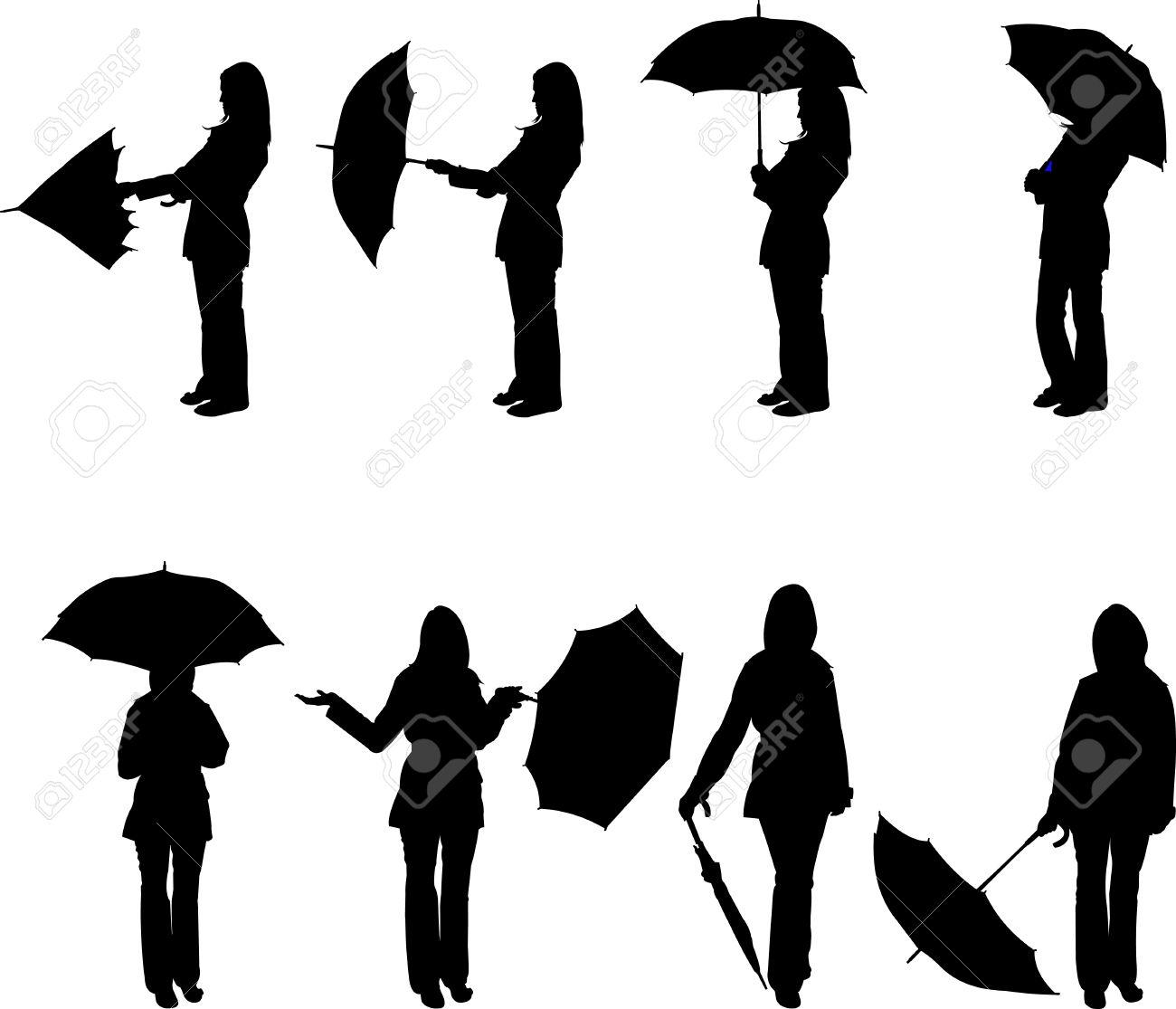 1300x1115 Resultado De Imagen Para Silueta De Mujer Blanco Y Negro Con