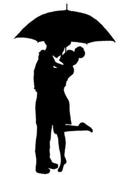236x343 Romantic Couple Silhouettes