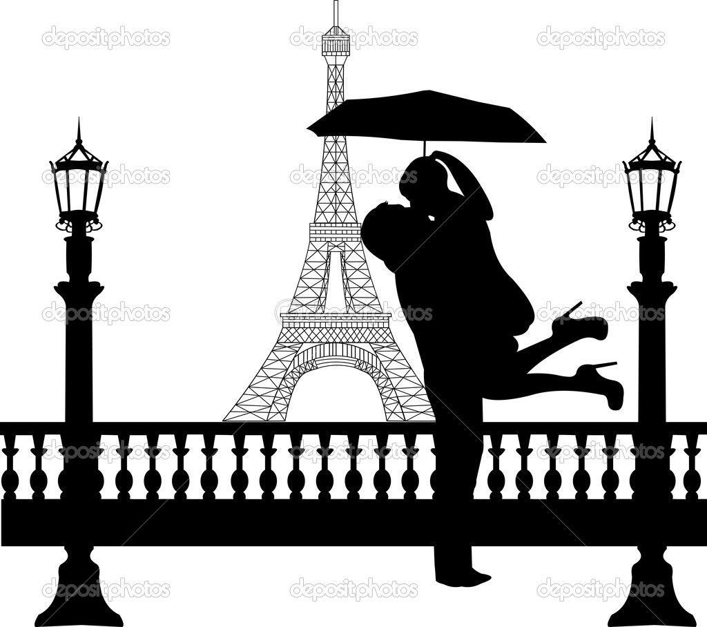 1024x908 Amazing Couple Under Umbrella Painting