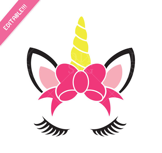 Unicorn Face Silhouette At Getdrawings Com Free For Personal Use