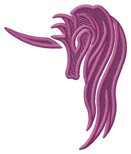428x500 Unicorn Head Silhouette Embroidery Design Annthegran