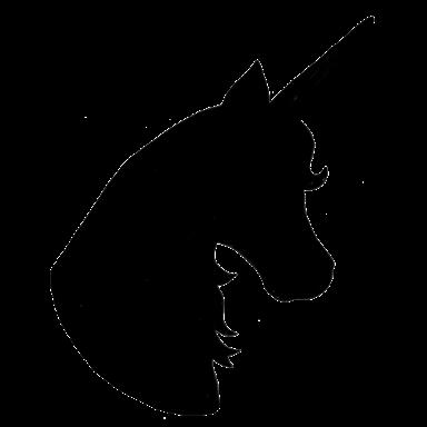 384x384 De Recherche D'Images Pour Unicorn Head Silhouette
