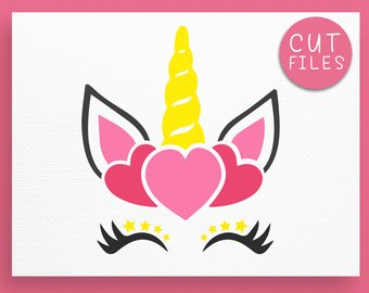 340x270 Unicorn Horn Svg Etsy