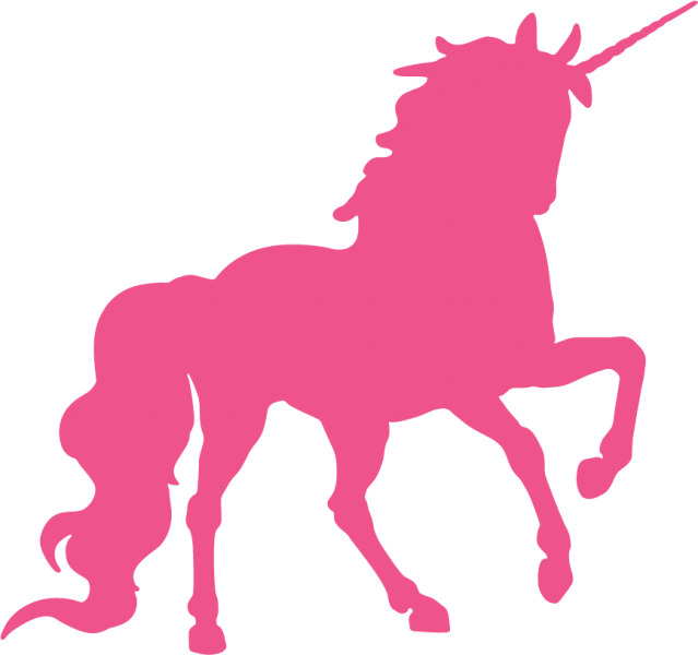 639x600 Kalia's Room This Is The Hot Pink Unicorn Kalia Wants On Painting