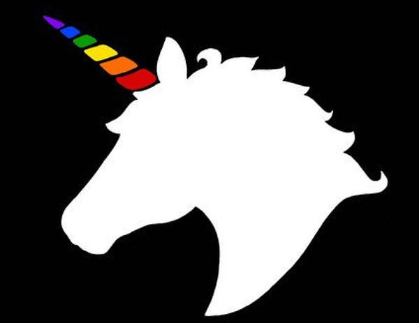 600x463 Unicorn Silhouettes