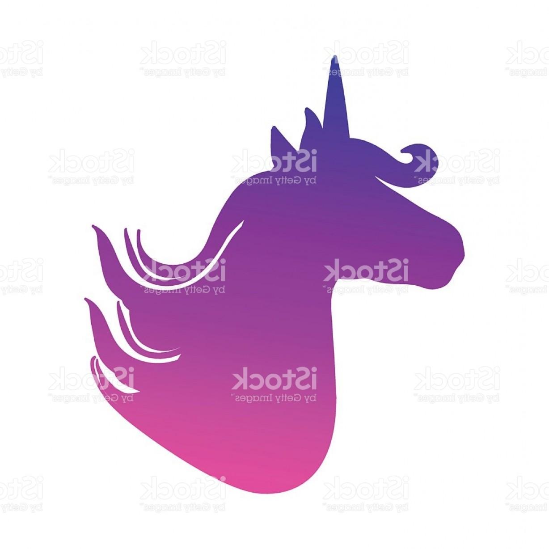 1228x1228 Unicorn Silhouette Head Vector Createmepink