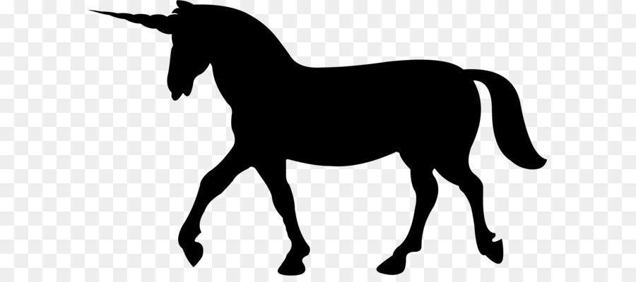 900x400 Unicorn Silhouette Horse Clip Art