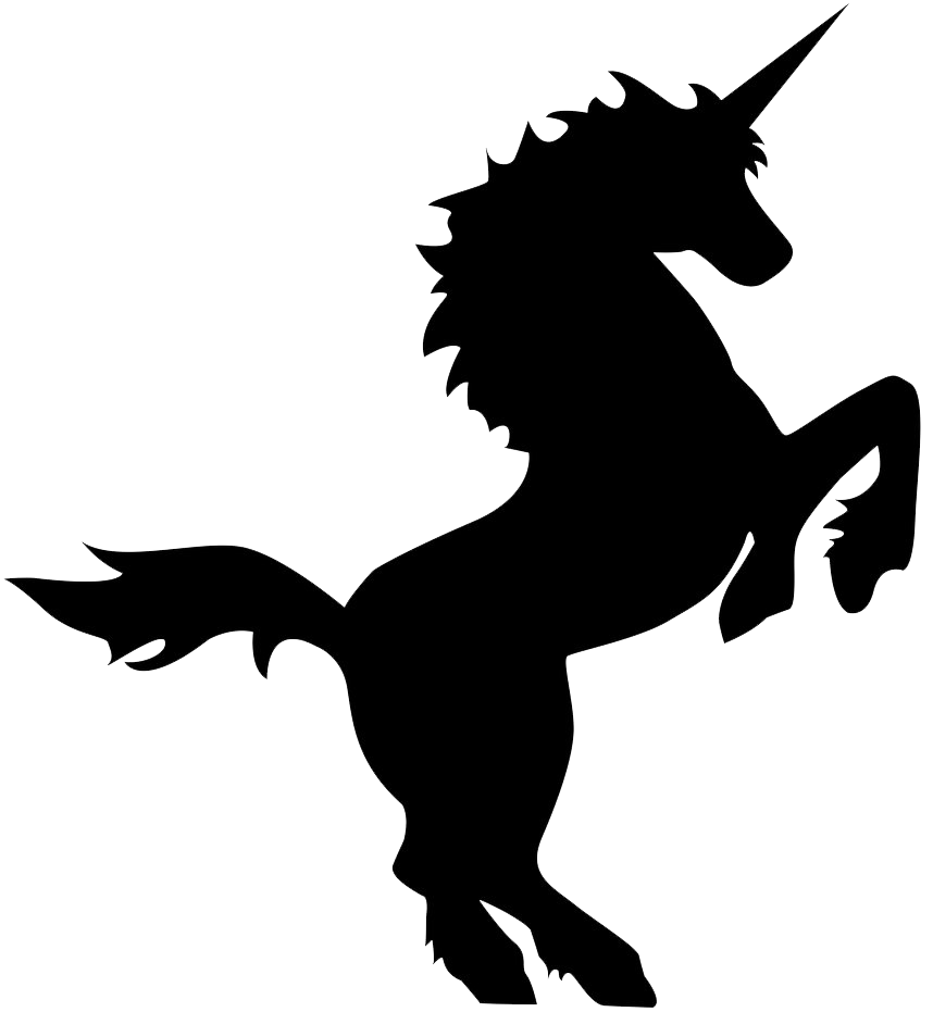 858x931 Unicorn Clipart Transparent Background