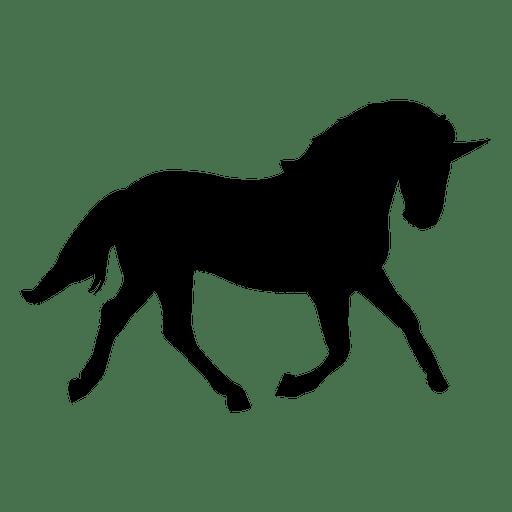 512x512 Unicorn Silhouette Animal