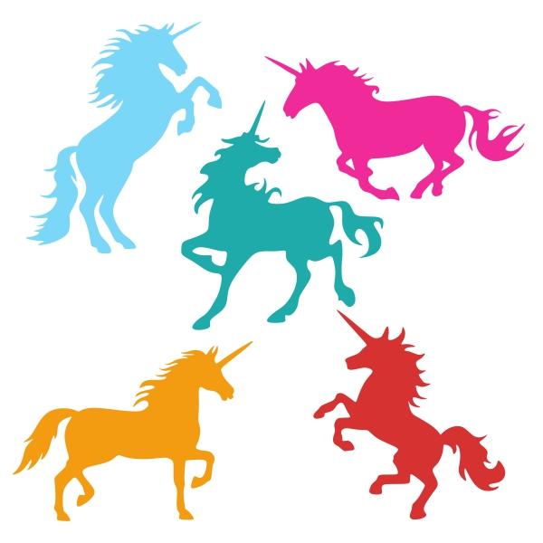 600x600 Unicorns Cuttable Design