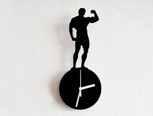 300x228 Mr Universe Silhouette 03 Wall Clock Ebay