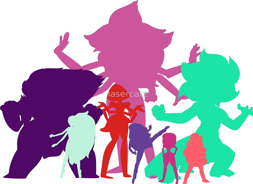 1000x729 The Giant Women Of Steven Universe By Lasercatz Redbubble