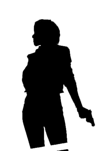 Unknown Person Silhouette