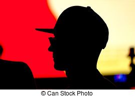 269x194 Unknown Person Silhouette. An Unkhown Person In Business Stock