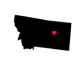 340x270 Montana Silhouette Etsy
