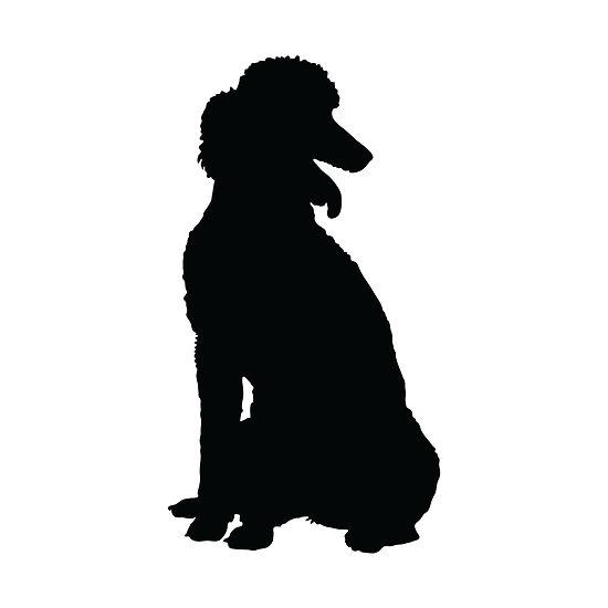 550x550 Poodle Silhouette Clipart