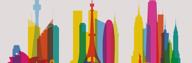 660x218 Breathtaking City Architectures Beautifully Illustrated