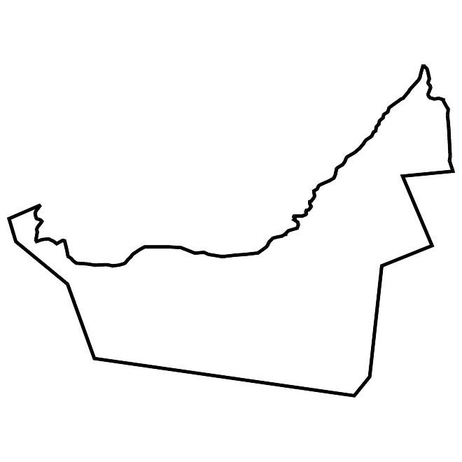 660x660 Iraq Vector Map